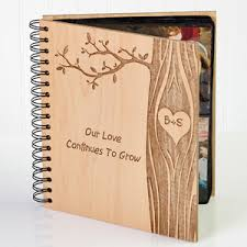 Photot Albums Personalized Romantic Photo Albums Carved In Love