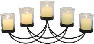 Image Centerpiece Briarwood Black Metal Votive Candelabra Decorative Candle Centerpiece Elegant Candle Holders Centerpiece For Weddings Parties Dining Table And Mantel Dhgate Briarwood Black Metal Votive Candelabra Decorative Candle