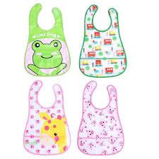 Cartoon <b>Baby</b> Kids Bibs Easy Cleaning Waterproof <b>Saliva Towel</b> ...