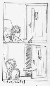open closet door drawing. Daily Comic From Drawing Class In College. On The Flip Side To Having Trouble Opening Closet Door, Nocturn Likes Randomly Open Door