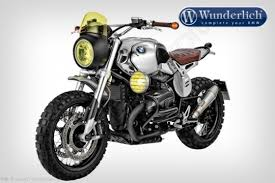 brushed side number plate set by wunderlich bmw r ninet