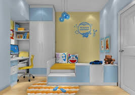 kids room decorating ideas beautiful blue and yellow kids bedroom decor