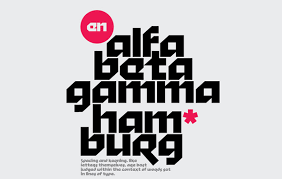 10 Abstract Fonts That Make A Bold Statement Creative Beacon