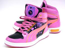 puma shoes for girls. fashionable ladies high cut sneakers puma dj girls jr 352570 puma shoes for