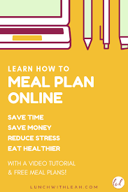 Make Healthy Easy With This Online Meal Planner With Video