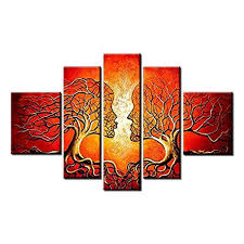 Small Picture 2 Piece Wall Art for Bed Room Amazoncom