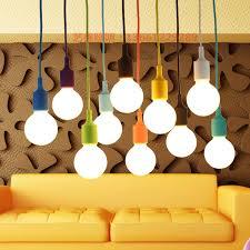 colorful pendant lighting. Colorful Pendant Lights E27 Silicone Lamp Holder Lamps 11 Lighting U