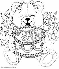 Free Coloring Pages Happy Birthday Birthdaycoloringpagesforkids