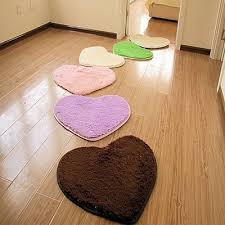 heart shaped floor mat gy fluffy rug area rug carpet home bedroom floor mat