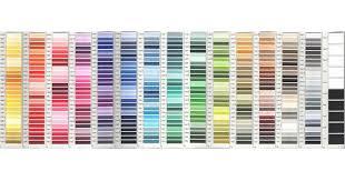 Madeira Embroidery Thread Colour Chart Madeira Rayon Embroidery Thread