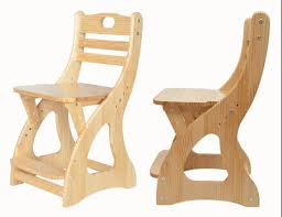 modern wooden study chair for student children kids furniture seat height adjule student chair pine wood children chair in children chairs from