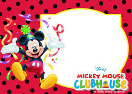 Free Mickey Mouse Template Download Free Mickey Mouse Summer Birthday Invitations Mickey Mouse