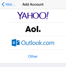 A Hotmail To How Iphone Add Account Mail Faq The 1vOnnBx