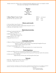 5 Example Scholarship Resume Martini Pink