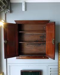antique bathroom wall cabinet
