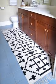 how to sew two small rugs together make a custom runner the