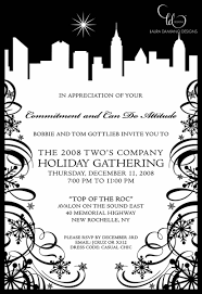 award winning bespoke event stationery company branding holiday twos company holiday party invitation