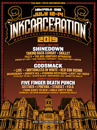 Inkcarceration Releases Set Times For 2019 Music And Tattoo Festival