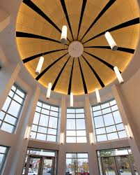 roof lighting design. Sequence Pendants In A Circular Configuration For Stylish Entryway Library Lighting Design. Roof Design