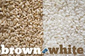brown rice vs white rice. Fine White Throughout Brown Rice Vs White