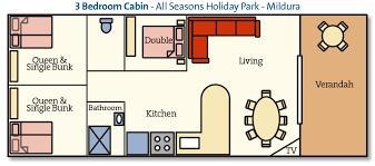 2 Bedroom Family Cabin