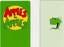 Apples To Apples Card Template Apples To Card Template Www Picsbud Com
