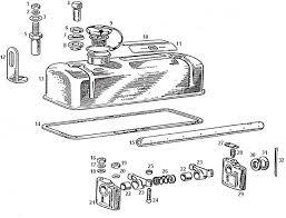 mgb engine 18gb on rocker cover rocker shaft assembly