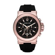 men s michael kors watches ernest jones michael kors men s rose gold tone strap watch product number 2353369
