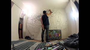 Wall Mural done with Acrylic DecoColor Paint Markers by Dunkees. - YouTube
