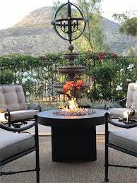 Jul 9 2019 Use This Stunning Fire Table On Your Choice Of Propane Or Natural Gas The Oriflamme Has Its Exclusive Burner System That Allow Feuerschale Feuer