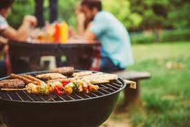 bbq grill and outdoor eating