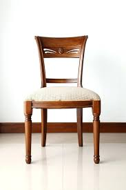 wooden chair with cushion a wooden chair with soft cushion stock image image of interior wooden chair with cushion