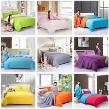Patchwork Quilt Cover Sets Suppliers | Best Patchwork Quilt Cover ... & Wholesale-Fashion Fastcolours Solid Color AB Side Full Queen Twin Bedding  Sets Patchwork Quilt cover Bedcover Pillowcase For 1.2m-1.8m Bed supplier  ... Adamdwight.com
