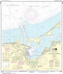 Noaa Navigation Charts Noaa Nautical Chart 13242 Nantucket Harbor