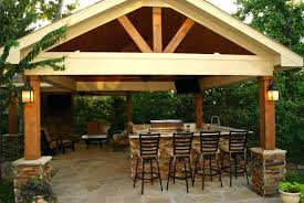 free standing patio covers. Stylish Freestanding Patio Cover With Kitchen Fireplace In The Woodlands  Stand Alone Prepare Free Standing Roof Fire Free Standing Patio Covers F
