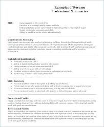 Summary In A Resume Example Summary Example Resume Summary Resume ...
