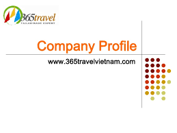 travel profile 365 travel company profile