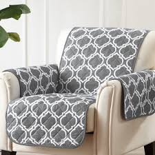 printed reversible t cushion slipcover