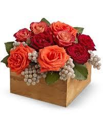 wine country flower arrangement