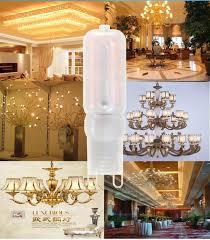 lb 220v led smd 2835 g9 5w corn light bulb spotlight for chandelier replacement halogen lamp