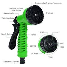 collapsible garden hose expandable garden hose pipe with 7 in 1 spray green collapsible garden collapsible garden hose