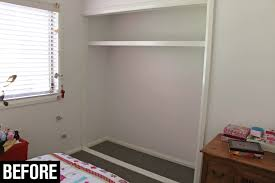 diy built in wardrobe