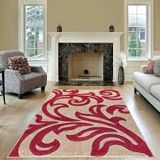 modern area beige red rug for living room extra large rugs extra large floor rugs