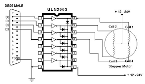 4 wire stepper motor driver circuit diagram images arduino this 4 wire stepper motor driver circuit diagram
