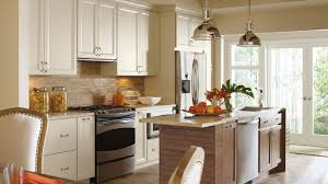 Off White Cabinets With Glaze Omega Cabinetry