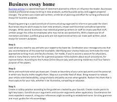essay on business management co essay on business management