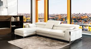 dazzling white leather l shape sofa 20 with back combined cushions also short silver steel legs