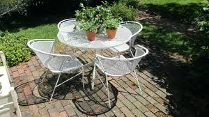 vintage furniture manufacturers. Metal Patio Set Furniture Clearance Vintage Look Of A Round Wrought Iron Makers Manufacturers E