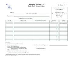 Trust Account Reconciliation Template Free Download Blank Bank