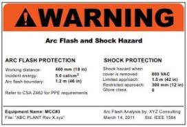 Arc Flash Ppe Chart 2017 Arc Flash Regulations Manitoba Engineering Services In